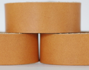 Wholesale Leather Cuffs- High Embossed Wristbands- 2pk Blanks- Genuine Leather