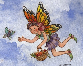 Archival Print: Monarch Fairy