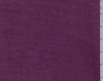 Berry Red Rayon Tissue Crepe, Fabric By The Yard