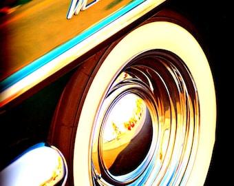 Classic Mercury - Rustic Wall Art - Classic Car Art Prints - Retro Print - Vintage Car Photography - Garage Art - 8x10