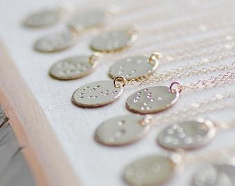 Virgo collier, collier Constellation de la Vierge, Virgo Zodiac collier, cadeau d'anniversaire, collier de l'amitié, collier de signe vierge, le meilleur ami