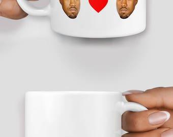 I love you like Kanye loves Kanye mug - Christmas mug - Funny mug - Rude mug - Mug cup 4P020