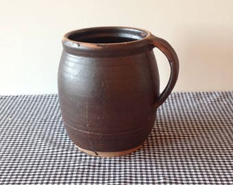 Pitcher, vintage stoneware pitcher, jug or pitcher Pottery