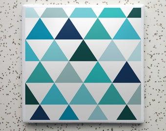 Summer Camp Lakeside Tile Coaster