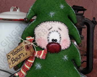 O. Tannen Baum Christmas Tree Pattern #130 - Primitive Doll Pattern