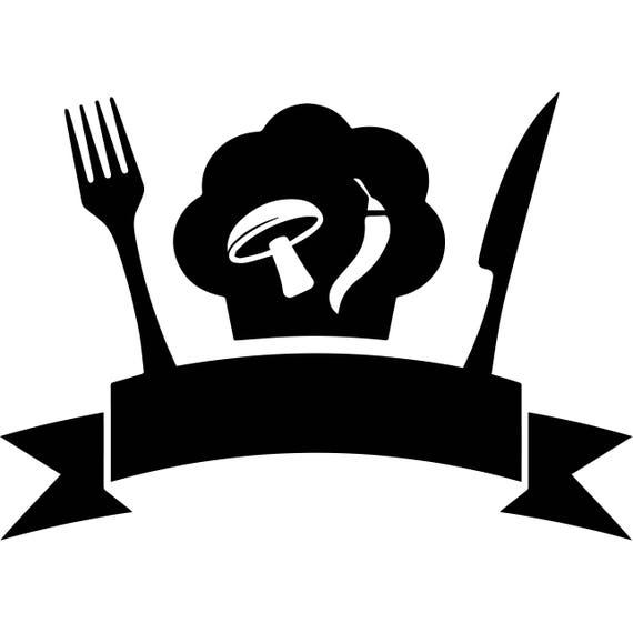 Kitchen Chef Logo Business Restaurant Cafeteria Food Dining