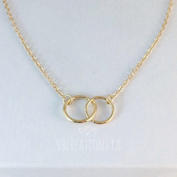 Infinity Necklace Infinity Jewelry Eternity Necklace