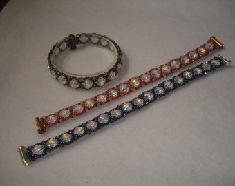 Crystal Garden Path Bracelet and Earrings EXTRA kit.