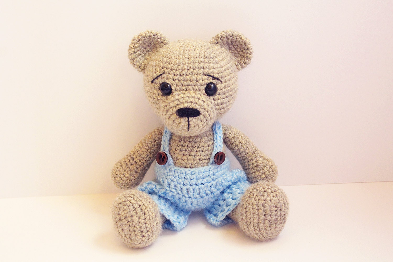 Amigurumi Teddy Bears : Pattern bear teddy amigurumi bear pattern bear classic