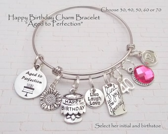 charming charm birthday p asp engraving bracelet