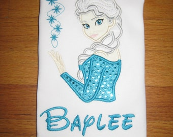 Personalized Frozen/Elsa Shirt