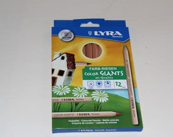 Lyra Colour Giants Pencils - 12 Assorted