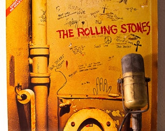 """ON SALE The Rolling Stones Vinyl LP 1960s British Classic Rock and Roll Mick Jagger Keith Richards """"Beggars Banquet"""" (German Import re-issue"""