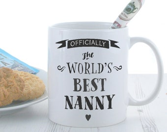Officially The Best Mug | The Worlds Best Mug | Coffee Mugs | Funny Mugs | Novelty Mugs | Quote Mugs - Personalised with Any Name
