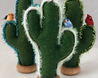 Saguaro Christmas Tree Ornaments