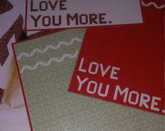 LOVE YOU MORE Quilt Pattern