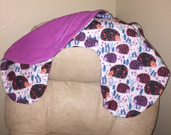 Boppy Zippered Flannel/Minky Pillow Cover