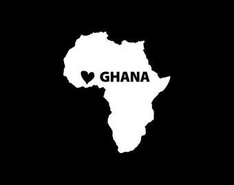 Ghana Window Decal
