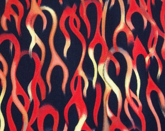 Flames Fabric by Brother and Sister  - 1/2 yard