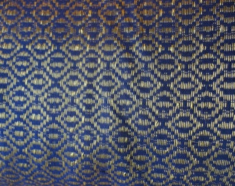 quality fabric and cotton, blue gold