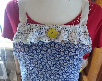 Sunflowers Full-Size Apron