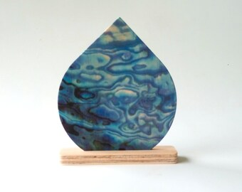 Objectify Reuseable Natural Air Freshener Disc - Paua Pattern