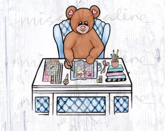 Planning Time Miss Bear Edition