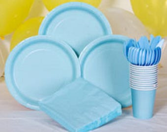 CHOOSE YOUR COLOR Party Supplies | Table Decoration | Birthday Decor | Tablecover | Napkins | Plates | Cups | Utensils