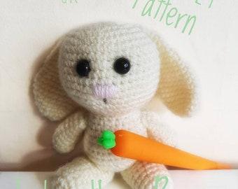 Lola the Bunny Crochet Pattern UK