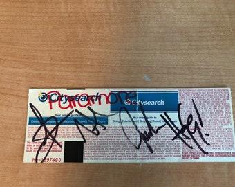 2007 Paramore Autographs