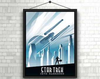 Star Trek into Darkness Artwork Poster
