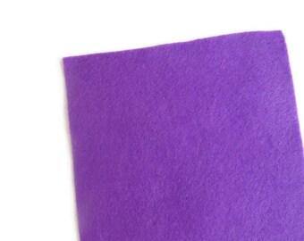 Fieltro de color Violeta, rollo fieltro, Tamaño 25 cm x 90 cm, fieltro muy suave al tacto, fieltro acrilico, fieltro de gran calidad