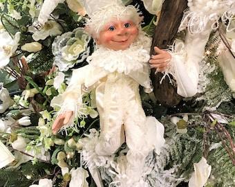 """Floridus 30"""" """"PEPIN"""" Elf (White) FLO-XN606300"""