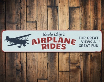 Personalized Man Cave Signs Etsy : Airplane hangar sign etsy