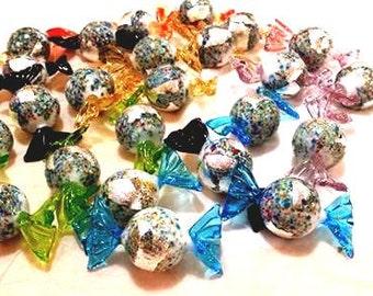 Klimt Kugeln: Glass Candy Handmade in Authentic Murano Glass