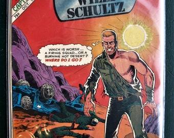 Captain Willy Schultz - The Lonely War by Charlton Comic Group  Vol. 2, # 76 Oct. 1985 - VF+