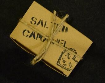 SALTED CARAMEL- vegan, sugar free chocolates