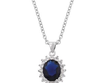 Royal Sapphire Pendant