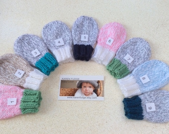 Thumbless Mittens, Baby Mittens, Children mittens with strings attached - Sizes Newborn/3T, Winter is coming, baby boy, baby girl, Mitts