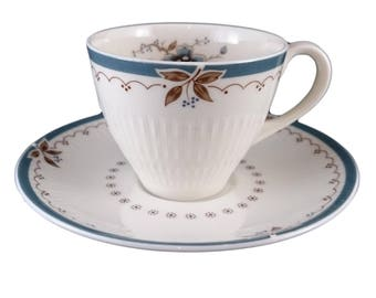 Royal Doulton 'Old Colony' Demitasse Cup & Saucer