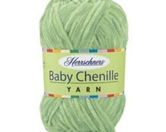 Yarn - Herrschner Baby Chenille - Lemonade or Apricot