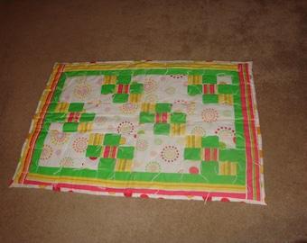 Circles & Squares Baby Quilt