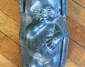 Vintage Chocolate Mold, Kewpie Doll Mold, Antique Mold, Anton Reiche, Germany, Vintage Cake Mold