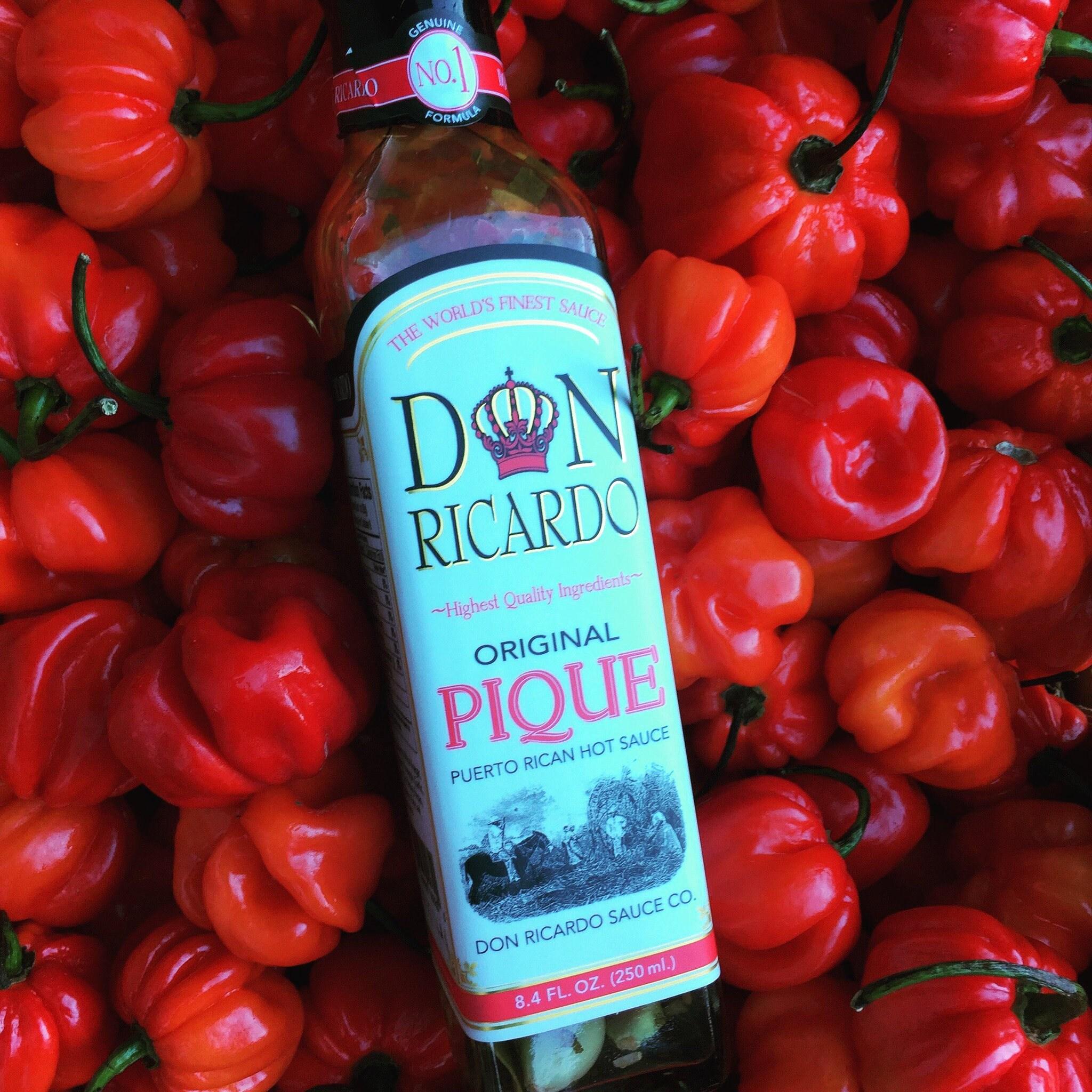 Pique Sauce Don Ricardo Sauce Co Puerto Rican Hot Sauce