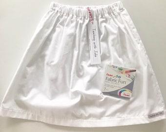 """Handmade """"Scribble"""" skirt"""