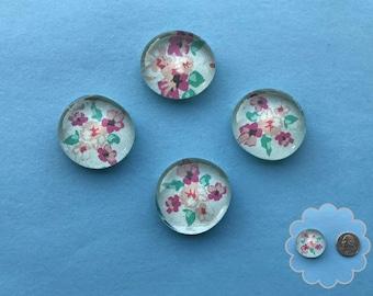 Spring - Glass Gem Magnets