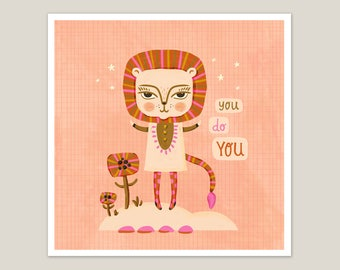 You Give Me Butterflies - Art Print 8x8