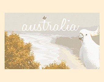 Australia, Coastlines  Print