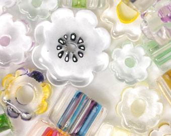 Flower Power David Christensen Furnace Glass Beads (30)