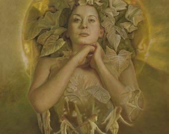 Cordelia Fantasy Faery Pagan Fine Art Giclee Print